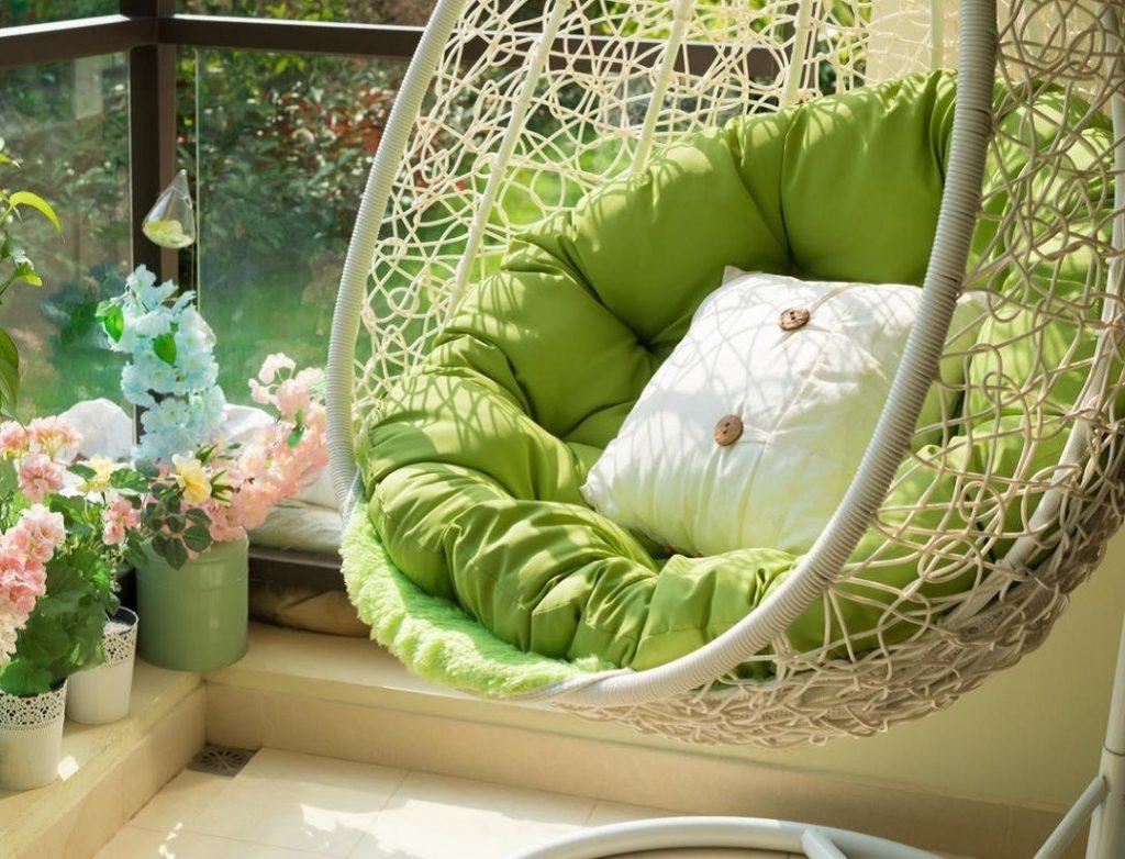 Mueble de jardín verde