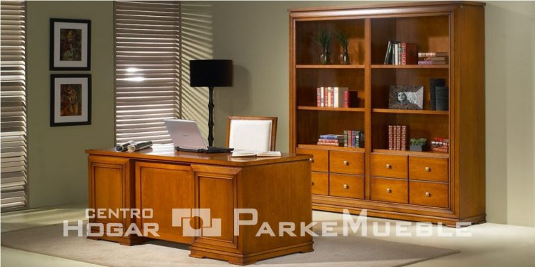 Oficina clásica de madera