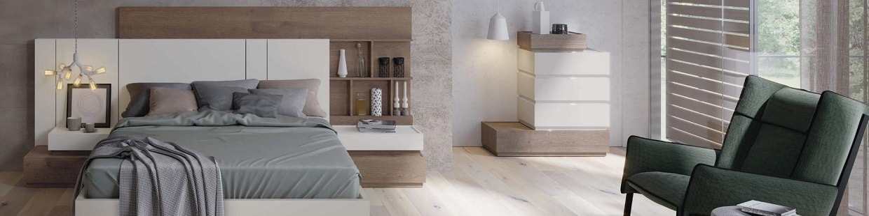 Dormitorio moderno de madera