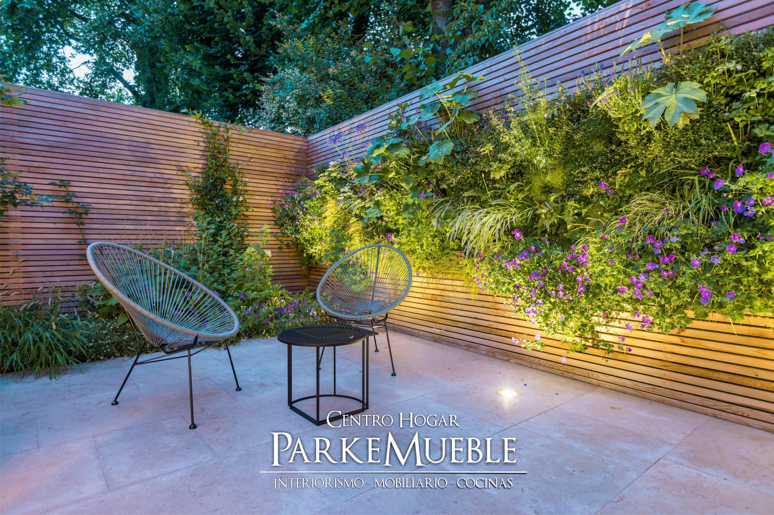jardin vertical patio